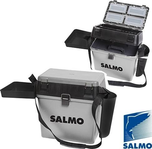 Ящик рыболовный зимний Salmo 2075 пласт. 39,5x24,5x38см